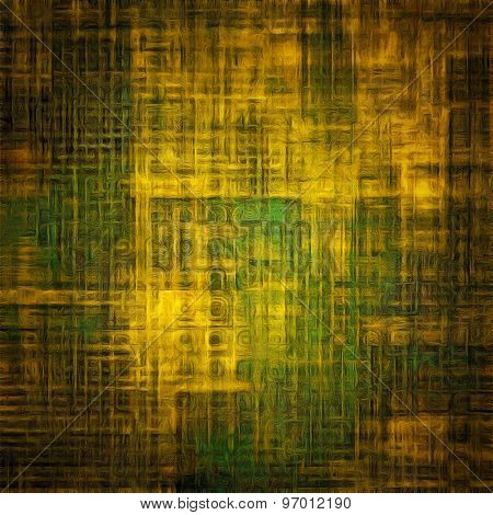 Beautiful vintage background. With different color patterns: yellow (beige); brown; green; black