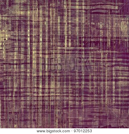 Old, grunge background or ancient texture. With different color patterns: brown; gray; purple (violet)