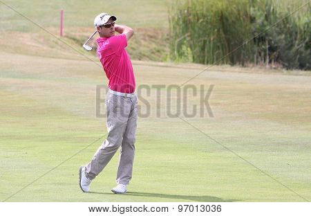 Jaco Van Zyl At The Golf French Open 2015