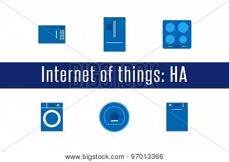 IoT - Home Appliances Icons