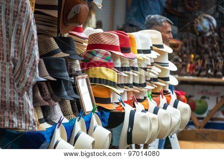 Otavalo Market Panama Hats