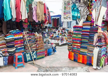 Otavalo Souvenir Stands