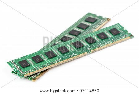 Ddr Memory Closeup