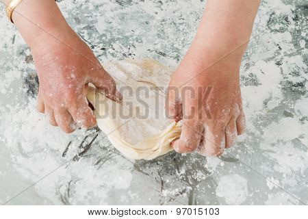 Preparation Of Dough For Baklava