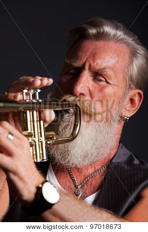 Portrait Of A Trumpet Player