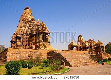 Kandariya Mahadeva Temple in Khajuraho, Madya Pradesh, India