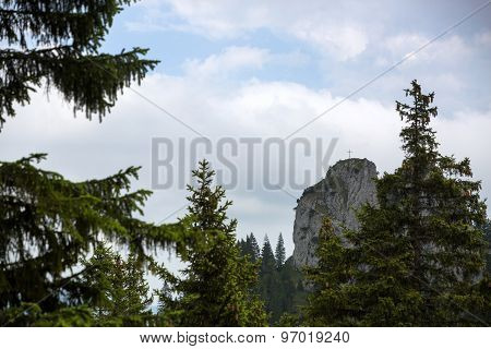 Mountain Panorama In Bavaria, Germany