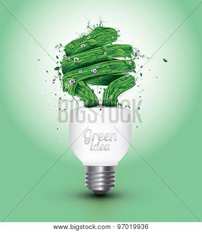 Vector Green Power Concept Design