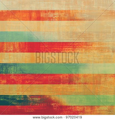 Old abstract texture with grunge stains. With different color patterns: yellow (beige); pink; green; red (orange)