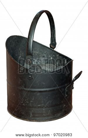 Coal Bucket Worn And Scratched