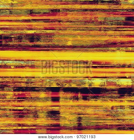 Colorful designed grunge background. With different color patterns: yellow (beige); purple (violet); pink; red (orange)
