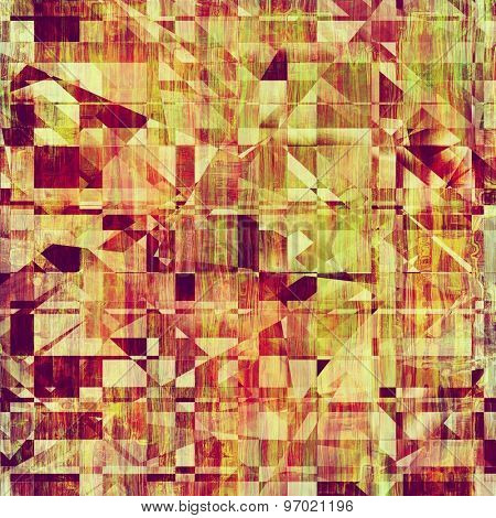 Grunge texture, Vintage background. With different color patterns: yellow (beige); brown; purple (violet); green