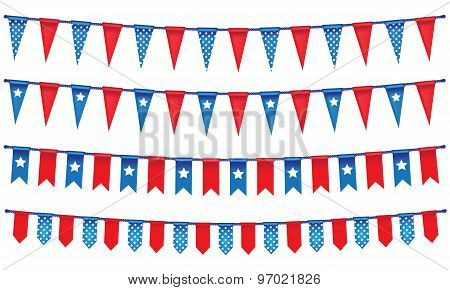 4Th Of July Rope Banner