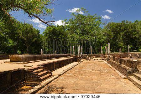 Ruins of ancient Anuradhapura