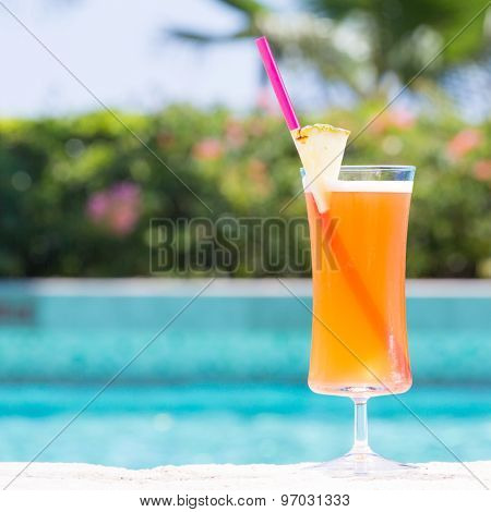 Glass Of Mai Tai