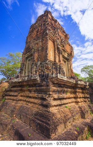 Baksei Chamkrong, 10Th Century Hindu Temple, Part Of Angkor Wat Complex, Cambodia.
