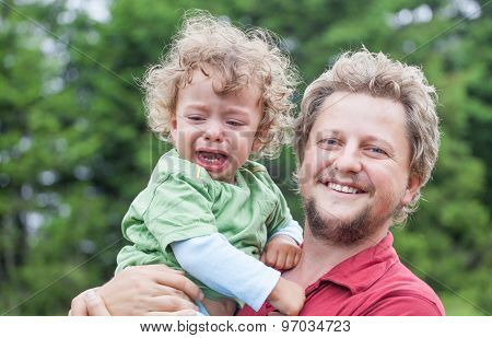 Toddler With Daddy