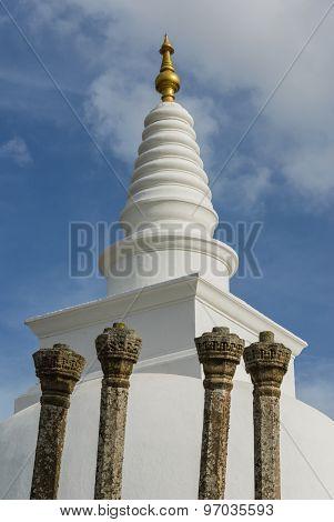 Thuparamaya buddhist stupa