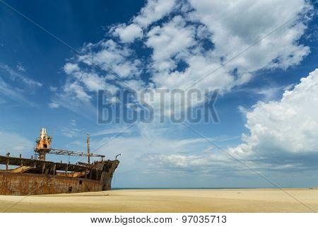 Farrah 3 shipwreck