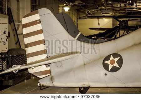 World War II Allied Airplane