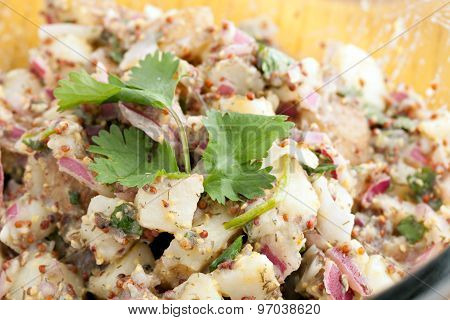 Healthy Homemade Potato Salad