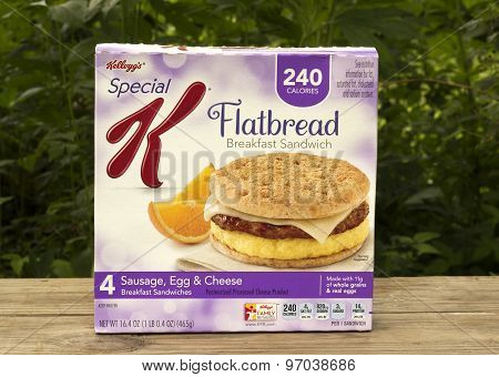 Flatbread Breakfast Sandwich