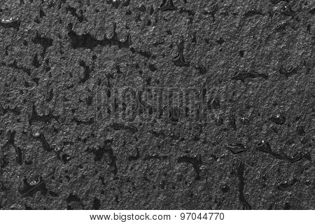Wet slate texture, macro shot