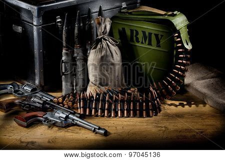 Military Still Life