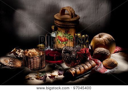 Still Life In Rural Style