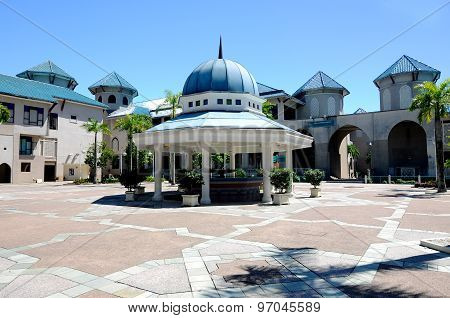 Ablution of Sultan Haji Ahmad Shah Mosque a.k.a UIA Mosque in Gombak, Malaysia