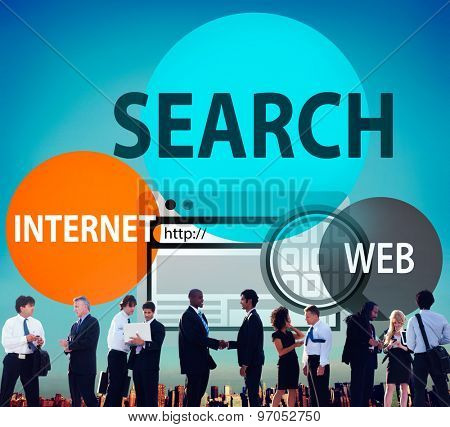 Search Searching Data Information Internet Concept