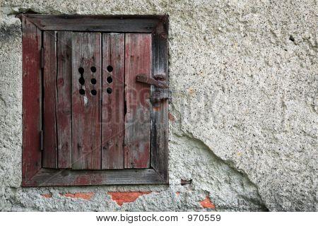 Puerta de madera antiguo