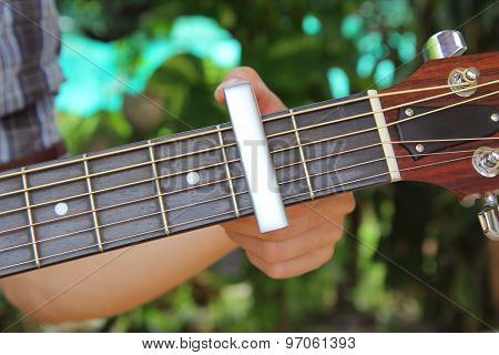 capo of guitar