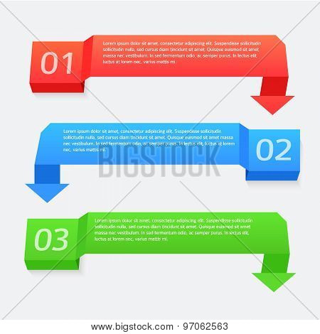 Banner-with-the-turn-arrow-infographics-steps-sequentially