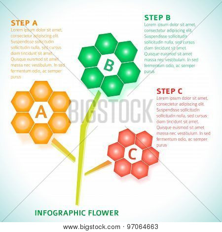 Infographics-technical-flower-background-options-gradient