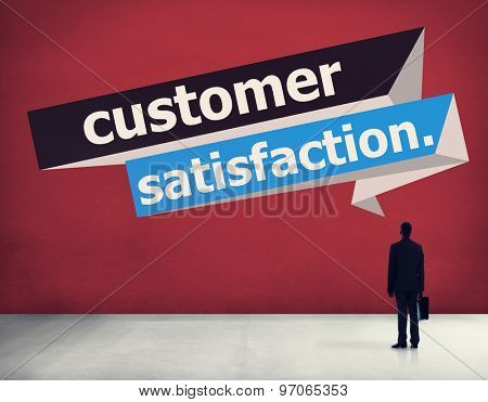 Customer Satisfaction Service Efficiency Consumer Concept
