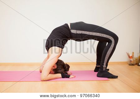Practicing The Backbend Yoga Pose