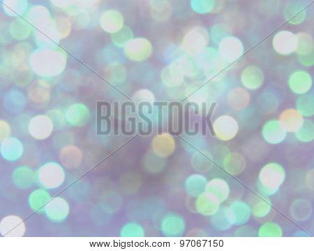 Bokeh light, white blurry sparkles, background