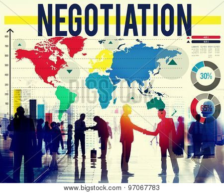 Negotiation Agreement Benefit Contract Decision Concept