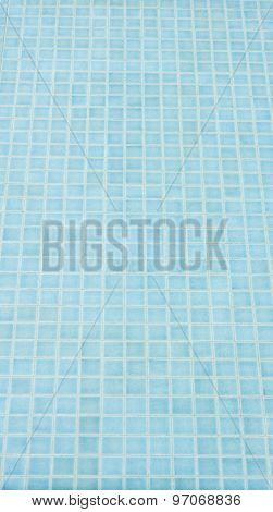 Mosaic Tile Background In Swiming Pool