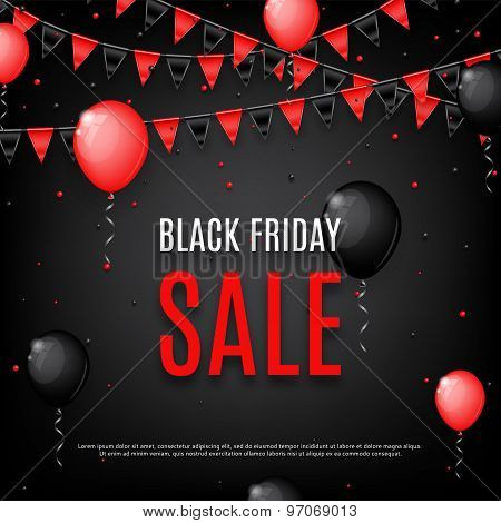 Design Of Poster Of Black Friday Sale