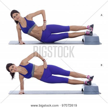Side Plank Hip Raise