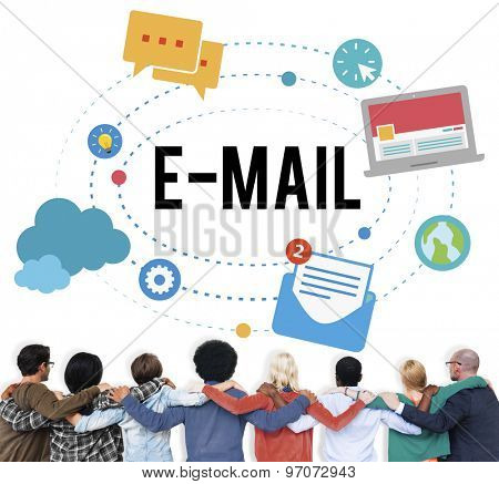 Email Correspondence Communication Technology Concept