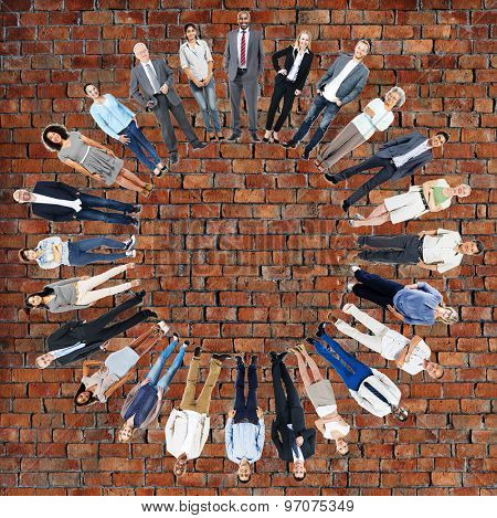 Multiethnic People Community Togetherness Unity Concept
