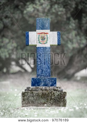 Gravestone In The Cemetery - West Virginia