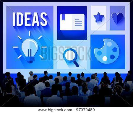 Idea Ideas Meeting Seminar Conference Brainstorming Concept