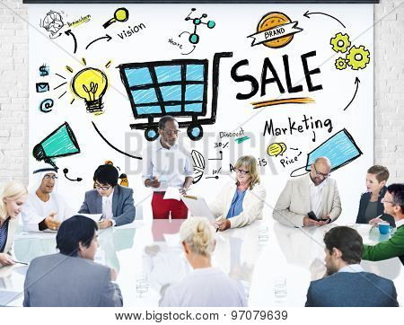 Sale Sales Selling Finance Revenue Money Income Payment Concept