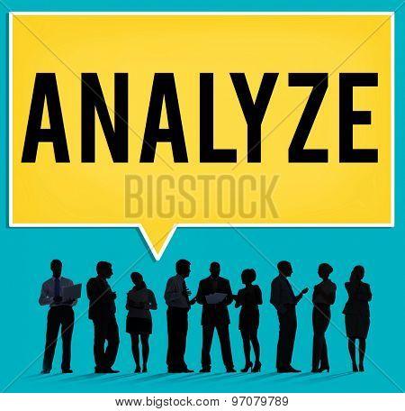 Analyze Analysis Data Information Planning Statistics Concept
