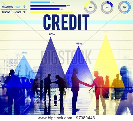 Credit Budget Loan Money Investment Balance Concept