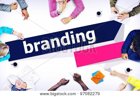 Branding Brand Trademark Identity Advertising Label Concept